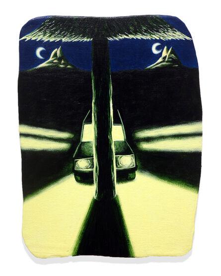Eliot Greenwald, 'Night Car (Division)', 2020