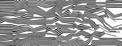 Cristina Ghetti, ''Sysmo' Acrylic on Canvas Kinetic Painting', 2020