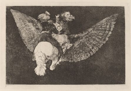 Francisco de Goya, 'Disparate volante (Flying Folly)', in or after 1816