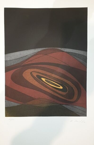 Roberto Crippa, 'Plate V from Suns/Landscapes', 1970's