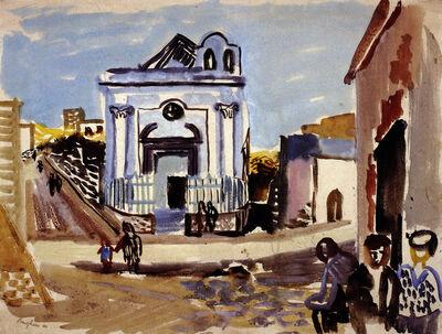 Eduard Bargheer, 'Kleine Kirche auf Ischia (Little Church on Ischia)', 1940