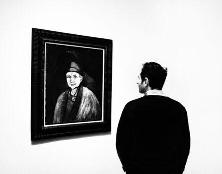 Jake Lambroza, 'Man and Picabia '
