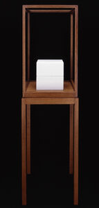 """James Lee Byars, '""""The Cube Book""""', 1989"""