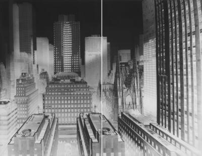 Vera Lutter, 'Rockefeller Center, 30 Rockefeller Plaza, New York, I: November 19, 1997', 1997