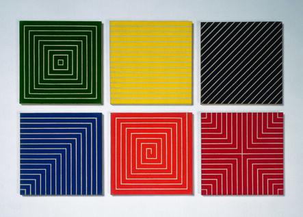 Frank Stella, 'Miniature Benjamin Moore Series (Island No.10; Palmito Ranch, Sabine Pass; Hampton Roads; New Madrid; Delaware Crossing)', 1962