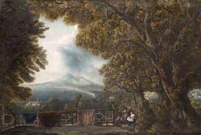 Abraham Louis Rodolphe Ducros, 'Vesuvius from Castellammare', 1794-1795