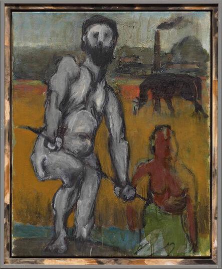 Markus Lüpertz, 'Der Fischer (The Fischerman)', 2017