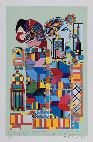 Eduardo Paolozzi, 'The Sun Dissolves', 1987