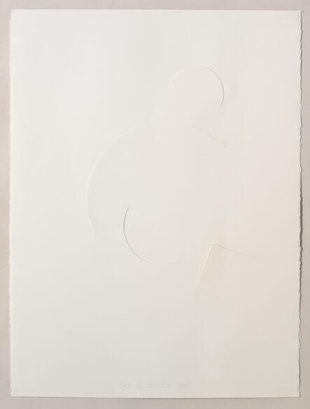 Stephen Antonakos, 'Untitled Cut, D#3', 1978