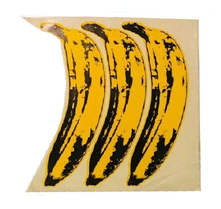 """Andy Warhol, 'SET OF 3- """"The Velvet Underground Banana Stickers"""", Original Unpeeled Banana Stickers Designed by Warhol for the  Debut Album """"The Velvet Underground & Andy Warhol"""", Extremely RARE', 1967"""