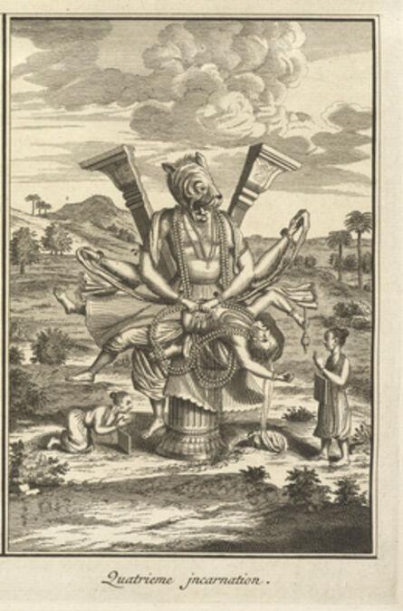 Bernard Picart, 'Fourth Incarnation', 1723-1743