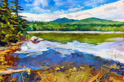 Takeyce Walter, 'Day 17: Reflections on a Pond ', February 2020