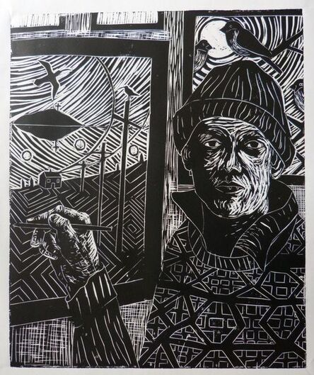 Paul Bloomer, 'Self-Portrait in Shetland', 2015