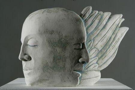 Glenys Barton, 'Angel Head', 2006