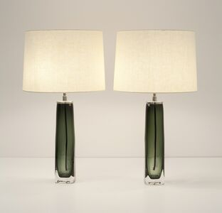 Carl Fagerlund, 'Pair of Table Lamps', mid-20th century