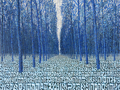 Tobia Rava, 'Bosco azzurro dei trangoli', 2012