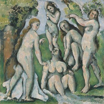 Paul Cézanne, 'Cinq Baigneuses (Five Bathers)', 1885-1887