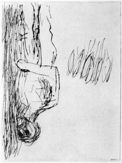 Georg Baselitz, 'Mann am fenster (Man at the window)', 1982