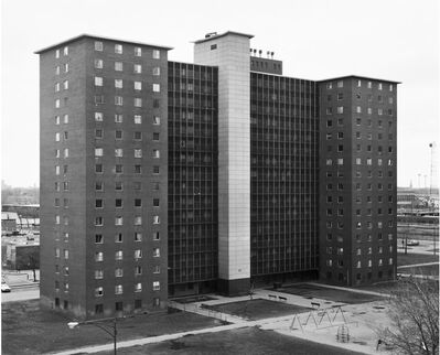 Thomas Struth, 'Soth Lake Street Apartments 1, Chicago', 1990