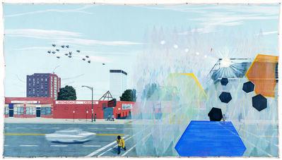 Kerry James Marshall, '7am Sunday Morning', 2003