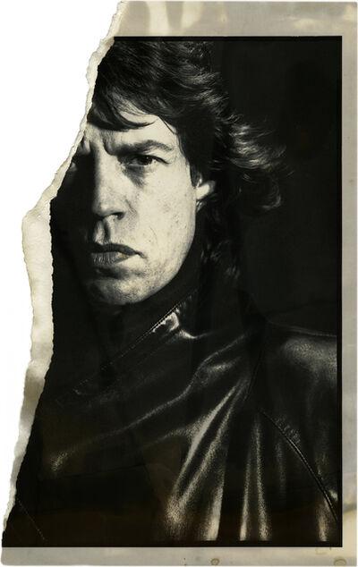 David Bailey, 'Uncharted – Mick Jagger', 1985