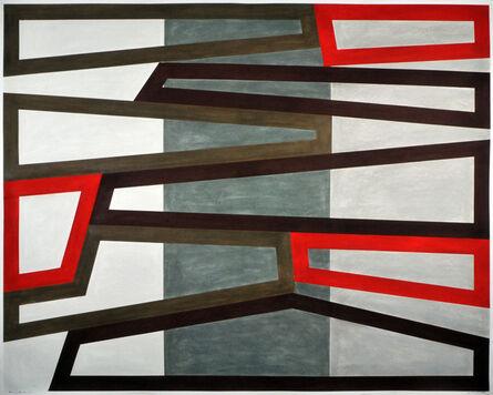 David Tremlett, 'FORM AND RHYTHM #14', 2015