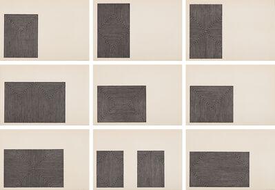 Frank Stella, 'Black Series I', 1967