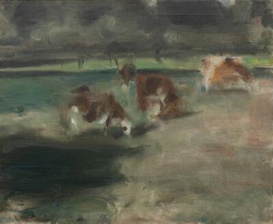 Edwin Dickinson, 'Cows', 1938