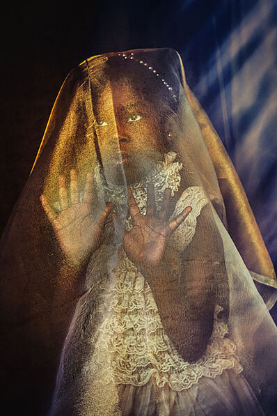 Tokie Rome-Taylor, 'Veiled...Power in Those Hands- Staged Historical Photograph of Artist's Daughter by Black Female Artist', 2018