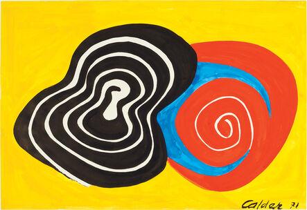 Alexander Calder, 'Strange Spiral', 1971