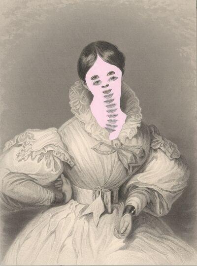 Kirsten Stolle, 'Mrs. John Goldsmith from the series de-identified', 1861/2014