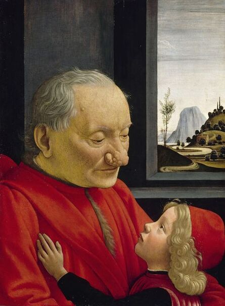 Domenico Ghirlandaio, 'Portrait of an Old Man and a Young Boy', ca. 1490