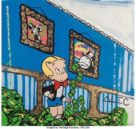 Alec Monopoly, 'Richie Rich Room', 2014