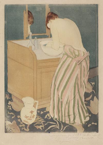 Mary Cassatt, 'Woman Bathing', 1890/1891