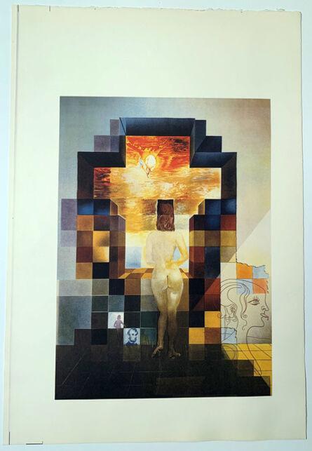 Salvador Dalí, 'Lincoln in Dalivision Continuous Tone Print, Gallery Poster Salvador Dali', 1977