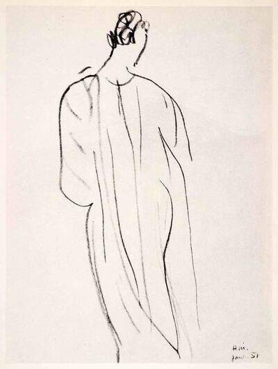 Henri Matisse, 'Female Figure', 1958