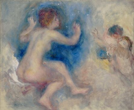 """Pierre-Auguste Renoir, 'Study for """"Scene from Wagner's Tannhäuser, Third Act""""', 1879"""
