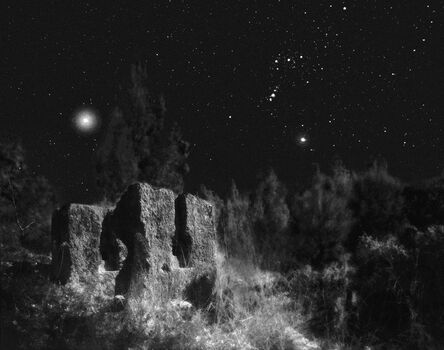 Neil Folberg, 'Nahal Nativ, with the Orion constellation', 1997