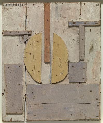 Joaquín Torres-García, 'Construcción con formas curvas (Construction with curved forms)', 1931