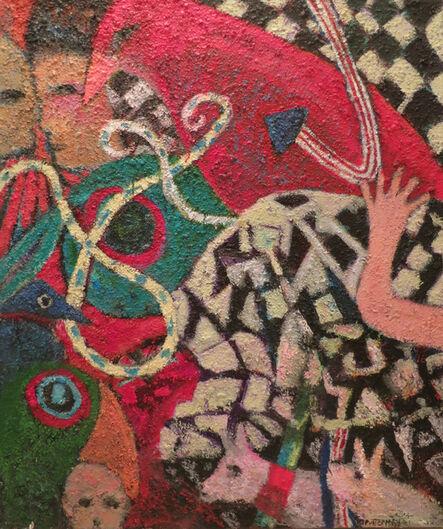 Florence Putterman, 'Bird Hand + Man II'