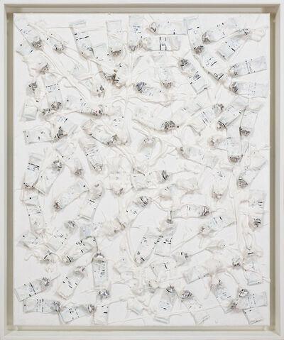 Arman, 'Monochrome Accumulation no. 4007', 1986-1989
