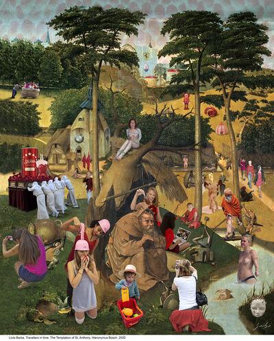 Lluis Barba, 'The temptation of Saint Anthony', 2021