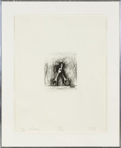 Jim Dine, 'Ten Winter Tools (Scissors)', 1973