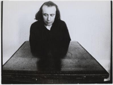 Vito Acconci, 'Undertone', 1973