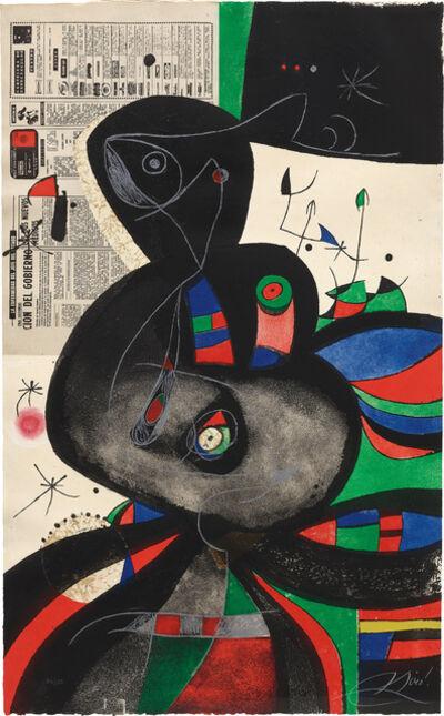 Joan Miró, 'Gaudí XXI (D. 1080)', 1979