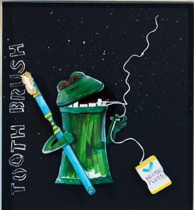 Katharine Owens, 'Fredrick the Trash Can Frog ', 2012