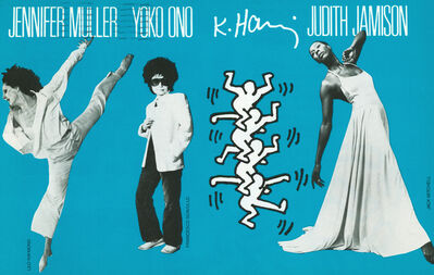 Keith Haring, 'Keith Haring Yoko Ono', 1987