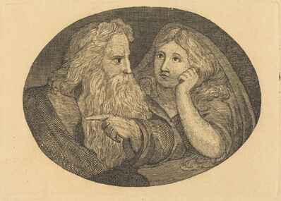 Thomas Butts, Jr., 'Lear and Cordelia, after William Blake', probably c. 1806/1808