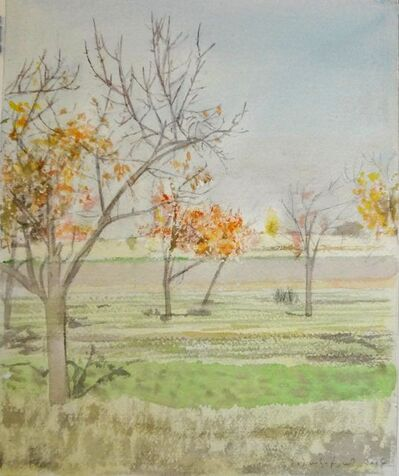 Hagop Hagopian, 'Colorful Trees', 2004