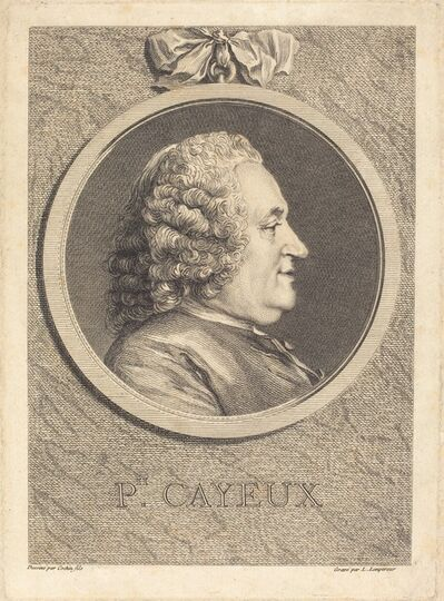 Louis-Simon Lempereur after Charles-Nicolas Cochin II, 'Philippe Cayeux'